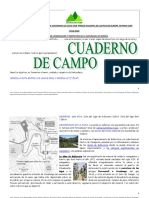 Cuaderno Campo Ruta Sencilla Lagos