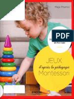 Jeux Méthode Montessori - 0 à 3 Ans