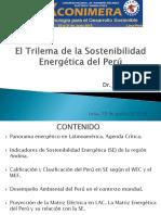 El Trilema de La Sostenibilidad Energetica Del Peru- XX Conimera.J.E. Luyo