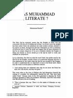 Was Muhammad Literate - Islamic Quarterly 95 - Mouhamad Rashid.pdf