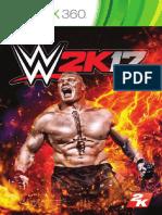 WWE 2K17 360 Online Manual