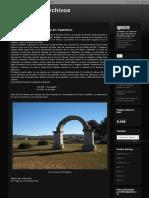 Catálogo Miliarios Vía Augusta Castellón