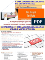 Data Analysis & Analytics Certification Training Malaysia
