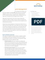 Datasheet Workday Human Capital Management