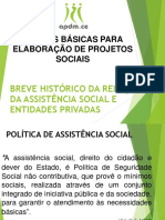 Noções Básicas Para Elaboração de Projetos Sociais