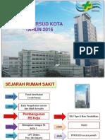 Presentasi Profil RSUD Koja 2016   .pptx