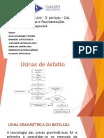 Usinas de Asfalto - 5 Periodo UniAGES