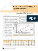 006 010 Alimentacion Calcica Para Calidad Cascara en Ponedoras Lera SA201307