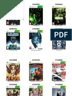 Catalogo de Juegos Xbox 360