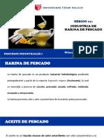 Proceso de produccion de la harina de pescado