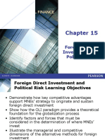 FDI and Political risk