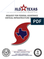 Harvey Request for Fed Assistance
