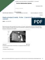 Bomba Principal Cauldal Probar excavadora 320d