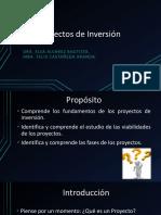 Sesión 1 - Proyectos de Inversión (1)
