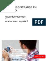 Registro en EDMODO