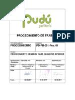 PD-PR-001-Rev. 01 - Procedimiento General Para Plomeria Interior HFB