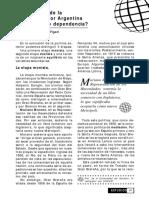 Figari - Los Vaivenes de La Politica Exterior Argentina