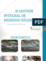 Plan de Gestión Integral de Residuso Sólidos