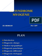 Syndrome Myogene wtn