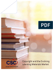 Copyright and the Evolving Learning Materials Market - Campus Stores Canada