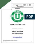 Gas Sulfhidrico (H2S)