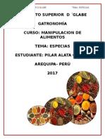 Especias Pilar