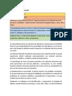 Plan Anual Matematicas 3 Unidad Primero Basico