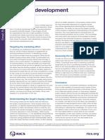 Business Development Factsheet RICS