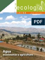 Revista de Agroecología. Agua, Ecosistemas y Agricultura