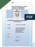 ALBAÑILERIA clasificacion de unidades de albañileria