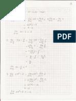 Solución Ejercicios Math Límites