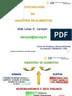 biotecnologia industria alimentos
