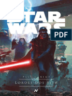 Star Wars - Lordes Dos Sith - Paul s Kemp