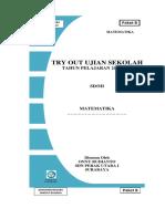 Tryout Online Matematika 2015-2016 Diknas Surabaya