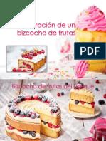 Bizcocho de Frutas Del Bosque