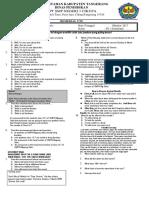 Soal Remedial Kelas 9 SMP3