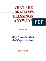 Abrahams Blessings -Jay Snell