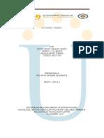 TECNOLOGIA LIMPIA - Actvidad 1 Unidad 1+