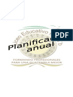 English Planing (Primero Básico) 2014