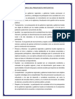 Ley Marco Del Presupuesto Participativo