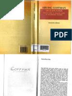 Goffman. Instituciones totales