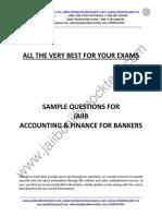JAIIB AFB Sample Questions by Murugan-Jun 17 Exams