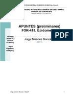 Apuntes Epidometria FOR-415 - Jorge Méndez González 2011