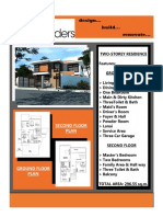 Two-Storey Residence Specs & Brochure