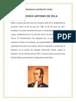Personaje Ilustre de Tacna-fco Antonio de Zela