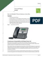 iPhone Cisco SPA303 G3 Datasheet