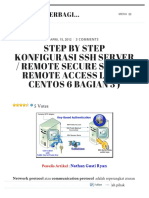 Step by Step Konfigurasi SSH Server _ Remote Secure Shell ( Remote Access Linux CentOS 6 Bagian 3 )