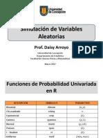 Simulación de Variables Aleatorias