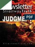 JUDGMENT ~ StraitwayNewsletter 05 ( 2013 ) ~ Pastor Dowell