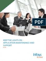 Infosys Application Maintenance Support